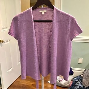 Lavender Open Cardigan 💜
